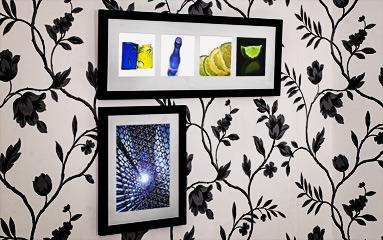 2 ramar med dekorbilder fotograf 2 Fotografer