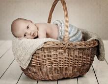 Babyfotografering i studio, Norrköping