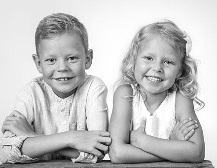 Barnfotografering i studio Norrköping