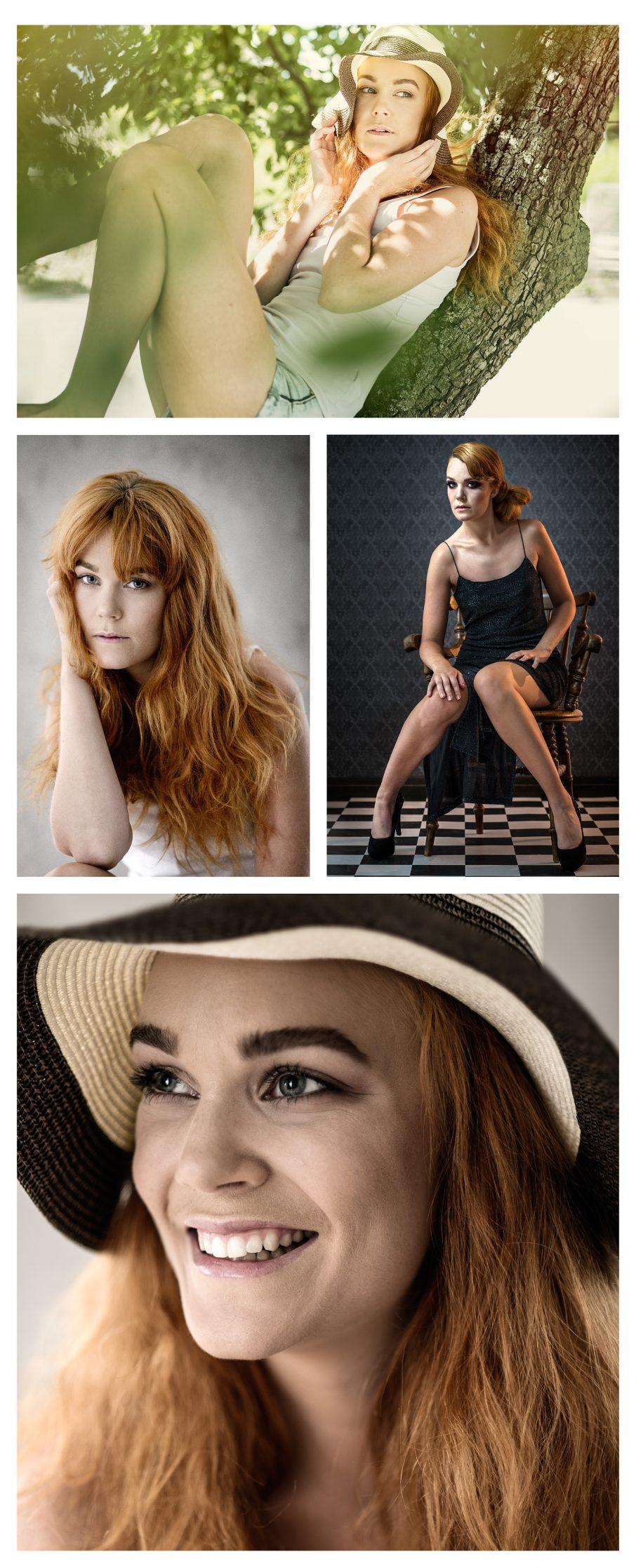 Porträt och modellfotografering foto: Linus Lindgren